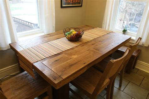 barnwood dining room table barnwood table