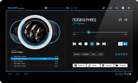 player for android tablet rage player for android tablets on behance