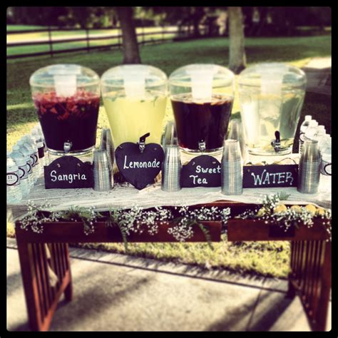 drink table decorating ideas wedding bar design ideas rustic wedding ideas