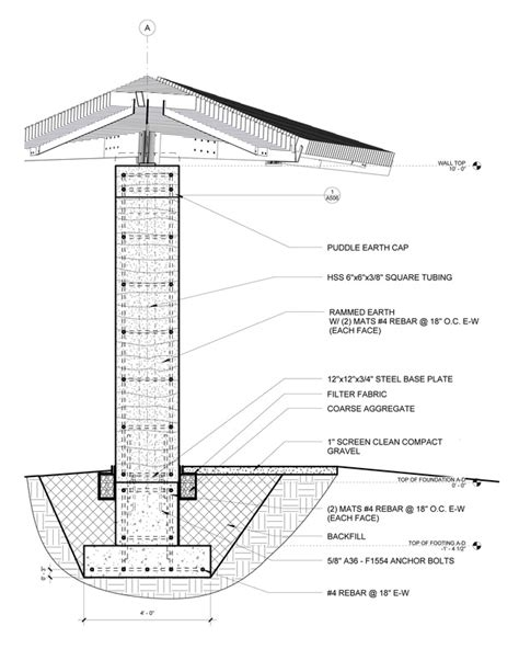 adobe wall section category technology and environment in architecture