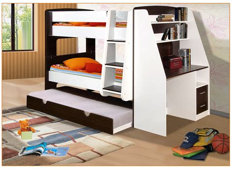 california single bunk beds  trundle bed  desk