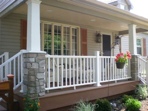 craftsman style cape  craftsman porch  york