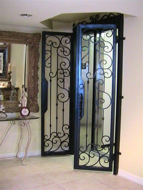 Wrought Iron Interior Door Forge Iron Designs Wrought Iron Elevator Door