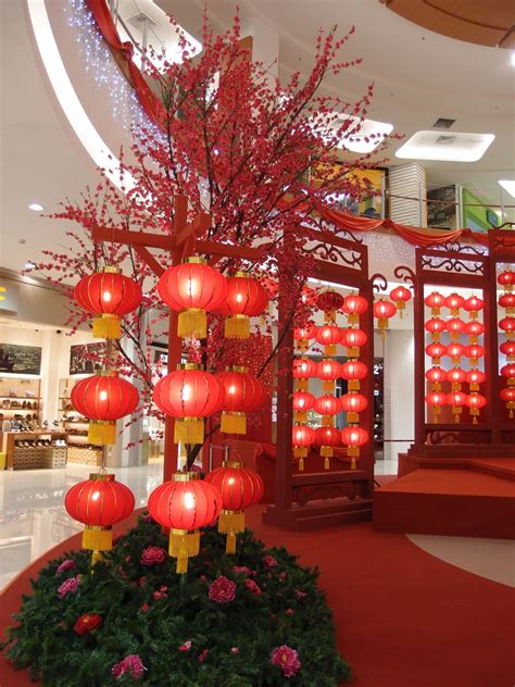 chinese new year decoration ideas for home xing fu chinese new year decorations at aeon sitiawan