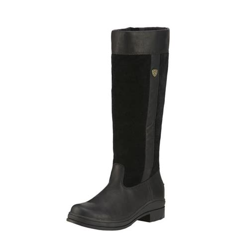 ariat black windermere h20 country boot 10016297 the