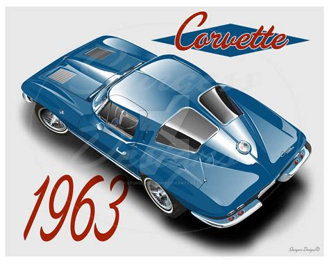 what year was the split window corvette made 1963 corvette split window by sturgessdesigns on deviantart
