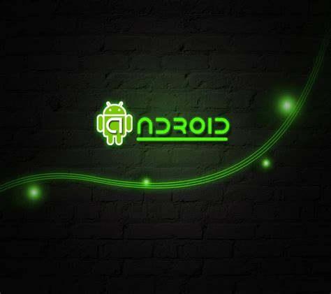 green android android green
