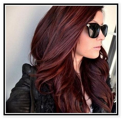 dark brown hair with mahogany highlights 1000 ideas about mahogany hair colors on pinterest