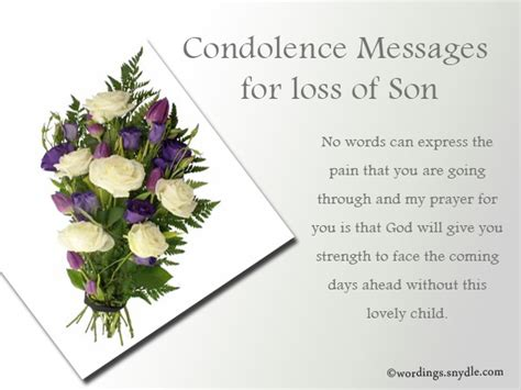 words of comfort for loss of son sympathy messages for loss of a child wordings and messages