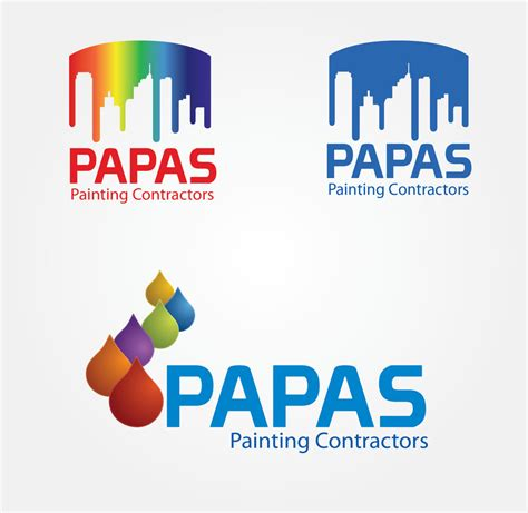 design a logo using paint entry 602 by mks1986 for logo design for papas painting