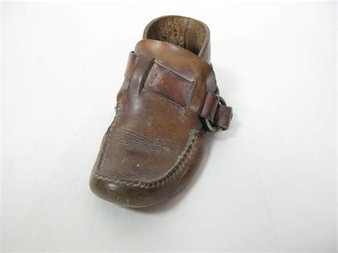 Handmade Leather Moccasins - 1970 s vintage handmade leather s hippie ring boot