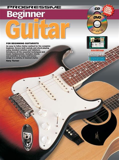 guitar book for beginners teach yourself how to play guitar songs guitar chords theory technique book lessons books progressive beginner guitar