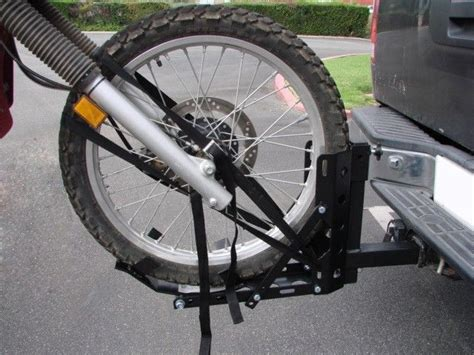 Trailer Hitch Motorcycle Rack by Motorcycle 2 Quot Receiver Trailer Hitch Carrier Pull