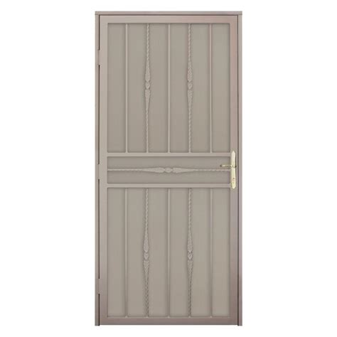 Metal Security Doors by Unique Home Designs 36 In X 80 In Cottage