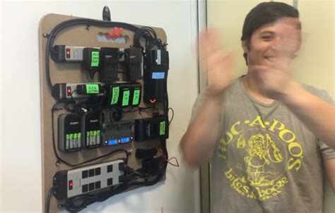 create a charging station create an epic diy battery charging station for your gear