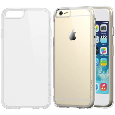 Clear Covers by Luvvitt Clearview For Iphone 6 Plus Cover For