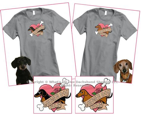 tattooed mom shirt 29 best images about for dachshund on