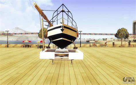 big boat in gta 5 gta v big boat trailer for gta san andreas