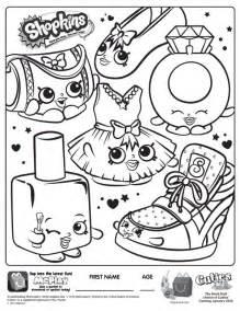 Shopkins coloring pages getcoloringpages com
