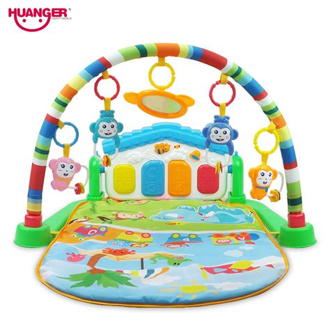 Huanger Baby 3 In 1 Play Rug Develop Crawling Children U0027s Music Rug Promotion Shop For Promotional Music Rug On