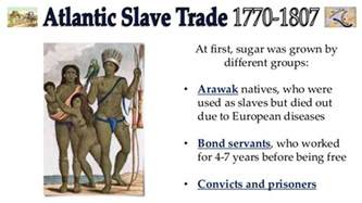 When Did Start Atlantic Trade Why Did Slavery Start