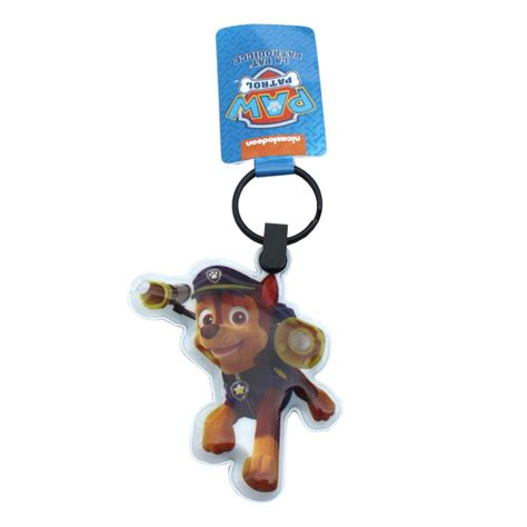paw patrol light up scooter paw patrol chase led light up keyring 6950687216178 1