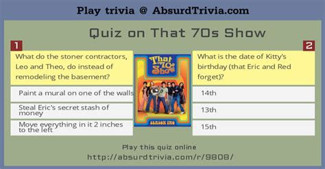 i trivia quiz trivia quiz quiz on that 70s show