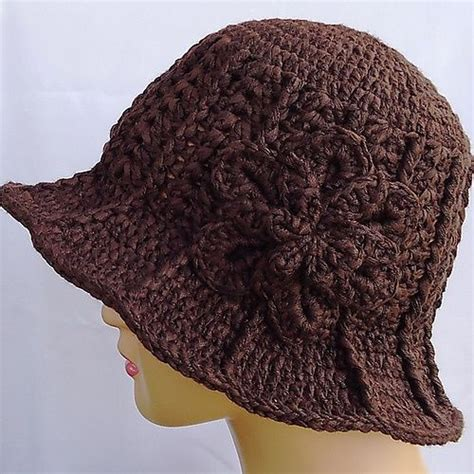 pattern crochet hat with brim 1000 images about crocheted hats and scarves on pinterest