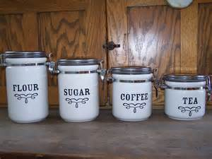 Designer Kitchen Canisters by Use Of Kitchen Canister Set As Decoration Your