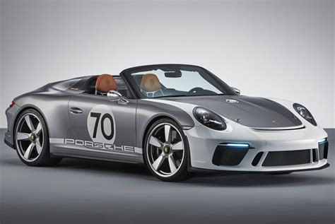 concept porsche porsche 911 speedster concept revealed for 70th