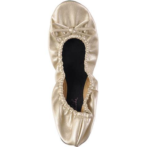 sidekicks foldable ballet flats shoes sidekicks s foldable ballet flats walmart