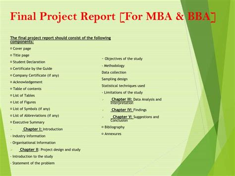 Project Management Software Report Mba 6931 by Ppt Sikkim Manipal Powerpoint Presentation Id 6087615