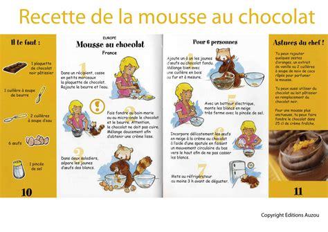 recette de cuisine am駻icaine recettes cuisine enfants