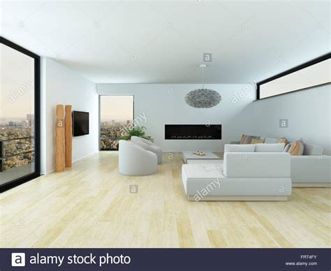 modern white living room modern white living room interior with a light parquet