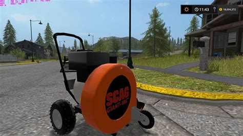 ls made from leaves scag walk behind leaf blower ls 17 farming simulator