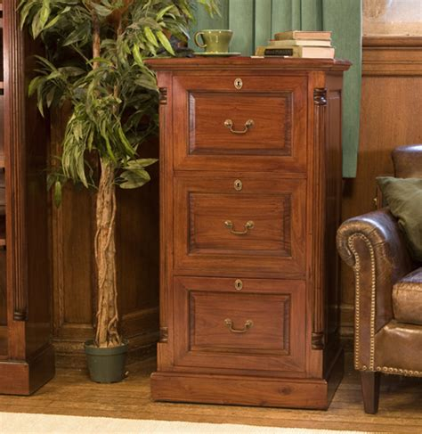 three drawer filing cabinet wood la roque mahogany three drawer filing cabinet