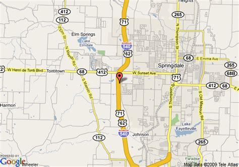 us map fayetteville arkansas map of extended stay america fayetteville springdale