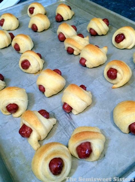 Crescent Roll Pig In Blanket by Pigs In A Blanket With Crescent Rolls And Smokies