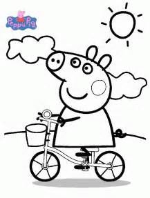 Peppa pig coloring pages coloringpagesabc com