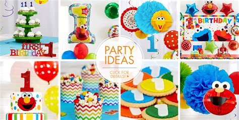 party themes pictures elmo 1st birthday party supplies party city