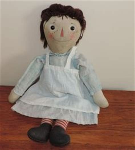 rag doll original song signed raggedy andy manufactured by molly es doll