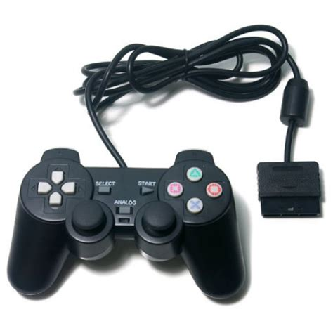 Promo Brand Gamepad Pc Dual Shock Controller brand new genuine orb dual shock wired controller for ps2 only black 020501 5060060330559 ebay