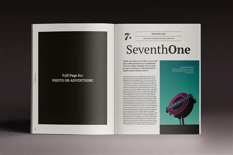 brogazine indesign template images indesign