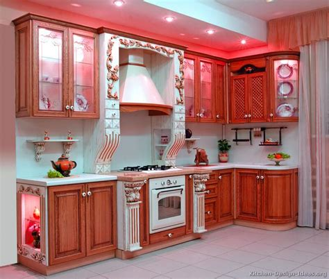 www kitchen cabinets com pictures of kitchens traditional two tone kitchen cabinets