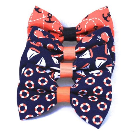neckties for dogs bow ties for dogs whales anchors sailboats and more