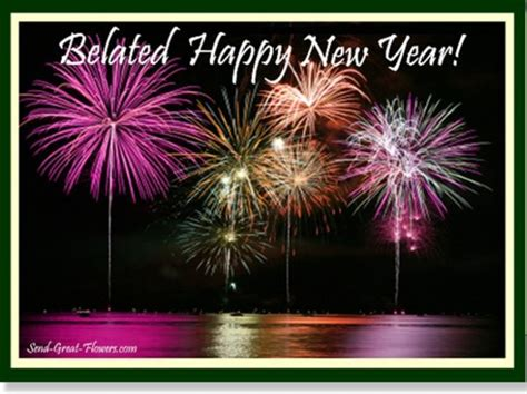 belated happy new year wishes wishes greetings