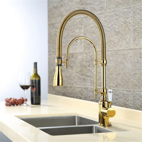gold kitchen faucet luxury 3 type rose gold kitchen faucet swivel spout vanity