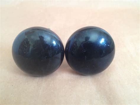 beautiful antique black porcelain door knobs ebay