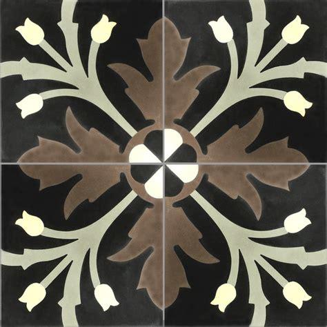 küchenfliese wand zementfliesen ornament blumen muster klassisch wand
