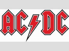 AC DC red Logo Vector (.EPS) Free Download Ac Dc Logo Images